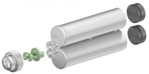 Sulzer F system 200ml 1:1 ratio cartridge