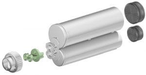 Sulzer F system 200ml 2:1 ratio cartridge