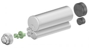 Sulzer F system 200ml 10:1 ratio cartridge