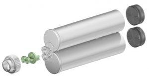 Sulzer F system 400ml 1:1 ratio cartridge