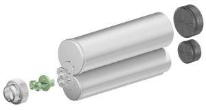 Sulzer F system 400ml 2:1 ratio cartridge