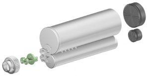 Sulzer F system 400ml 4:1 ratio cartridge
