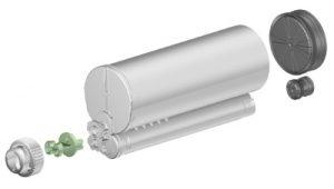 Sulzer F system 400ml 10:1 ratio cartridge