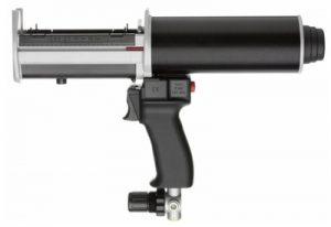Pneumatic 400ml medium and high power dispensing gun for 400ml cartridges.